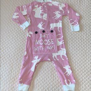 Flap Jack Moose Pyjamas size 6 months